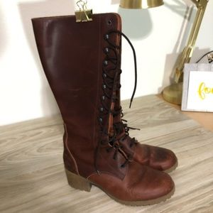 99dc5988ace VINTAGE J Crew Italian leather boots